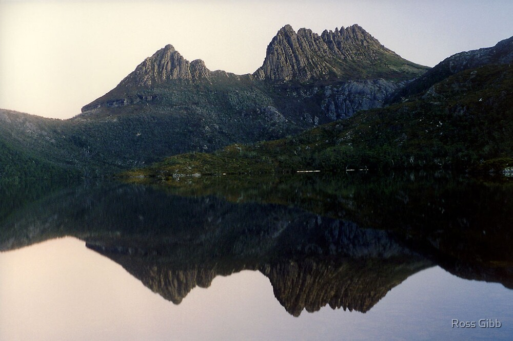 Cradle Mountain reflections by Ross Gibb
