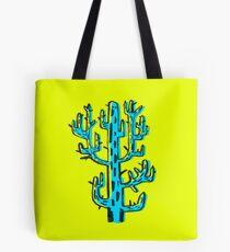 Cactus azul Tote Bag