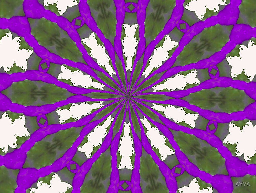 purple joy by AYYA