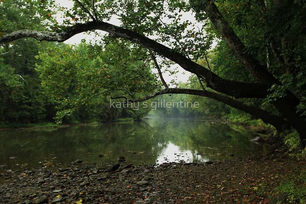 Great Miami River by kathy s gillentine