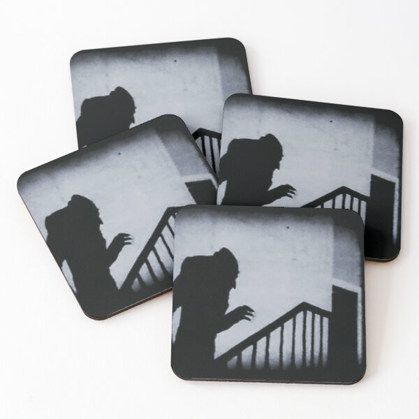 Nosferatu Classic Horror Movie Coasters (Set of 4)