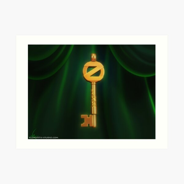 Return to Oz Emerald City Key Art Print