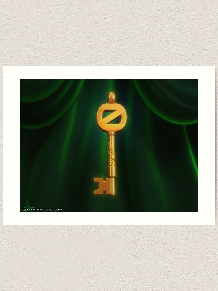Alternate view of Return to Oz Emerald City Key Art Print