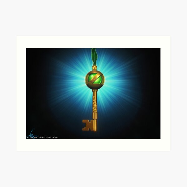 Return To Oz Orb Portal Key Art Print