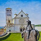 St Francis of Assisi, Italy by Dai Wynn
