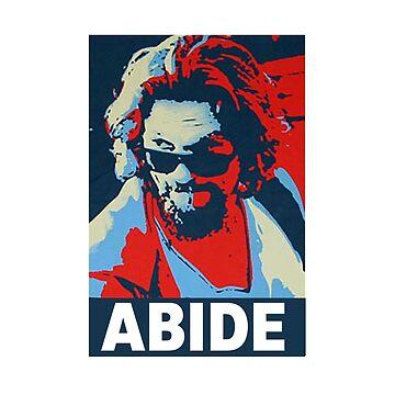 The Dude abide big lebowski cult film shirt by SOpunk