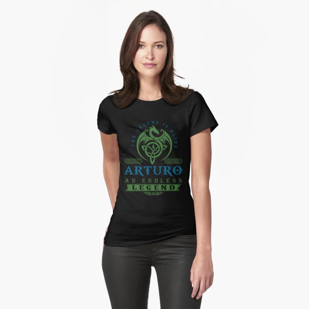 Legend T-shirt - Legend Shirt - Legend Tee - ARTURO An Endless Legend Fitted T-Shirt