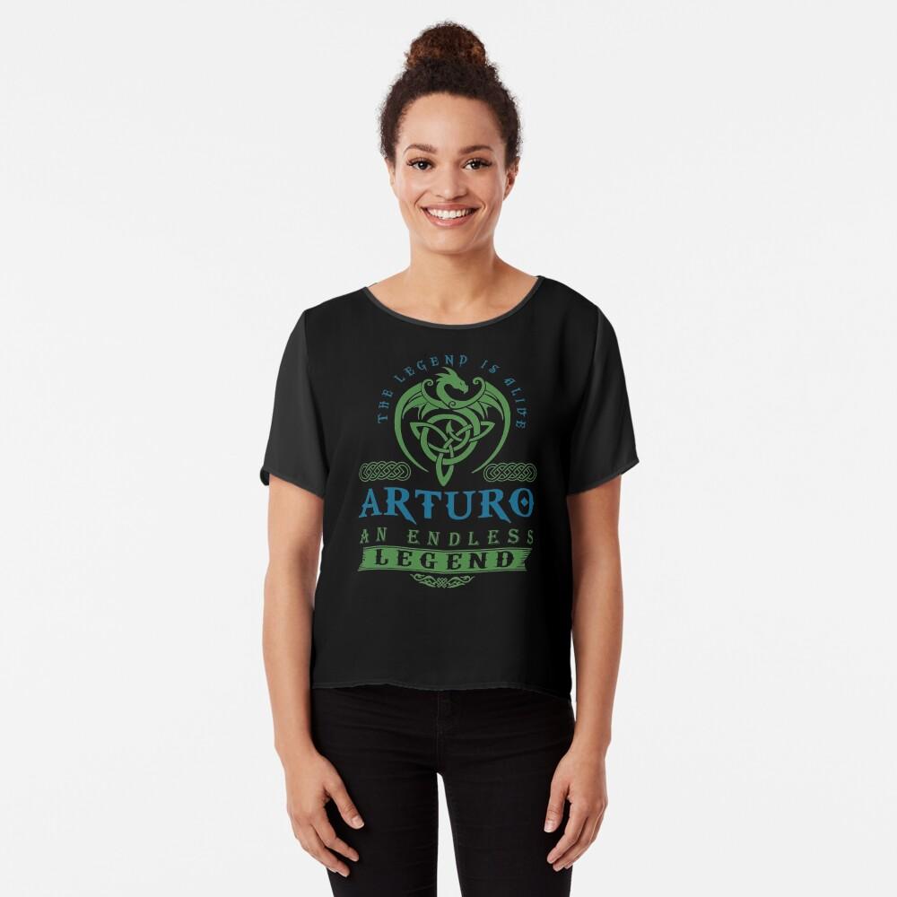 Legend T-shirt - Legend Shirt - Legend Tee - ARTURO An Endless Legend Chiffon Top