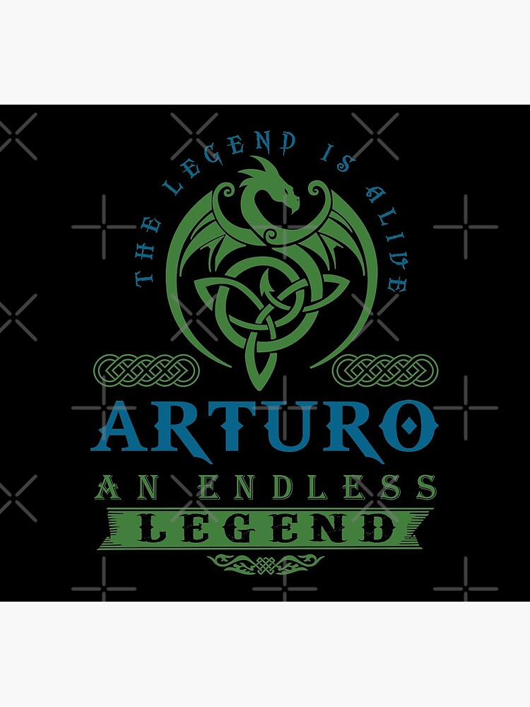 Legend T-shirt - Legend Shirt - Legend Tee - ARTURO An Endless Legend by wantneedlove