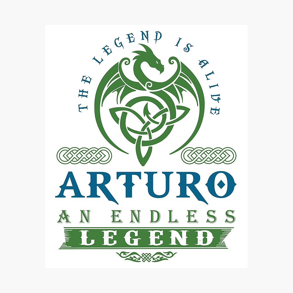 Legend T-shirt - Legend Shirt - Legend Tee - ARTURO An Endless Legend Photographic Print