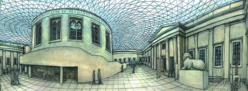 The British Museum by graffitology