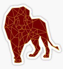 Hand drawn Lion Sticker