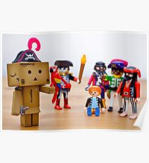 danbo the unconvincing pirate Poster