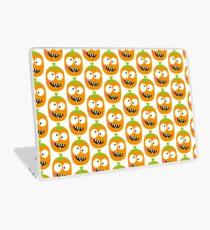 Happy Pumpkin Laptop Skin