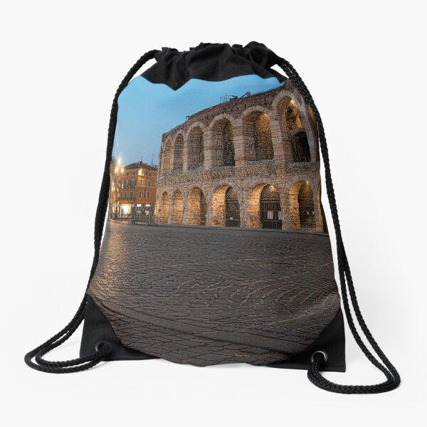 L'Arena, Verona, Italy Drawstring Bag