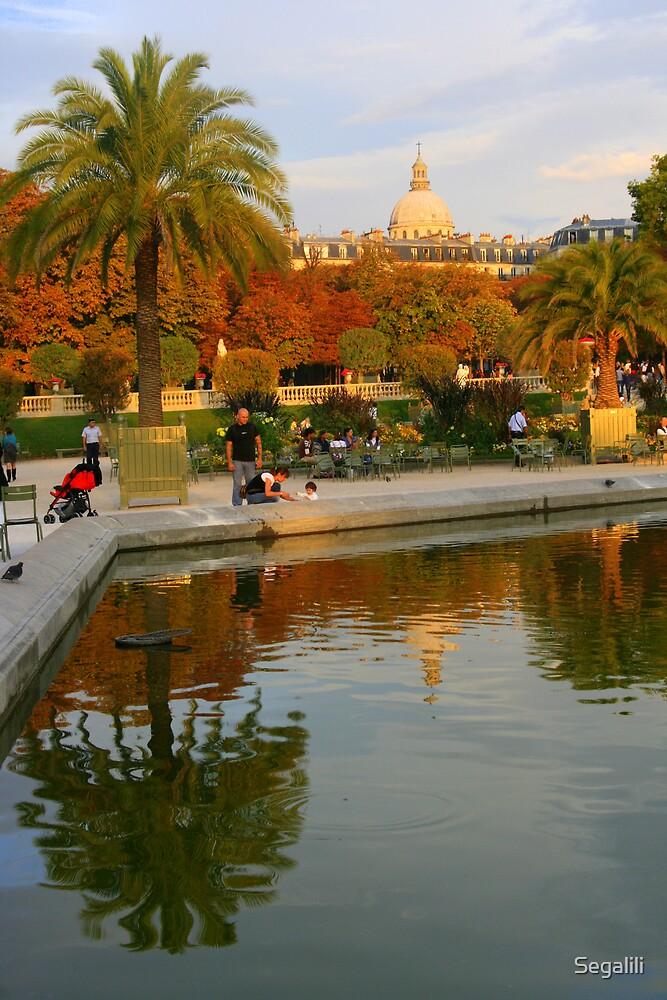 Jardin du Luxembourg  by Segalili