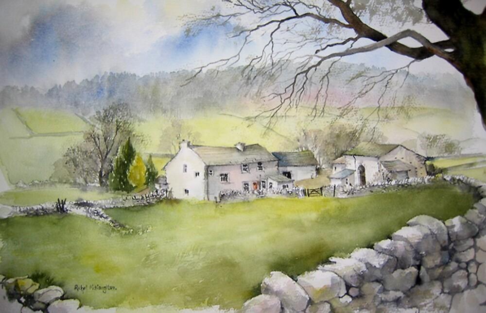 Appletreewick Farm by artbyrachel