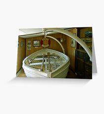 Hope Cottage Museum Lifeboat  Greeting Card