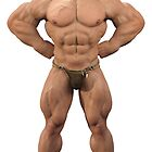 Bodybuilder Noak by 3D-Warrior