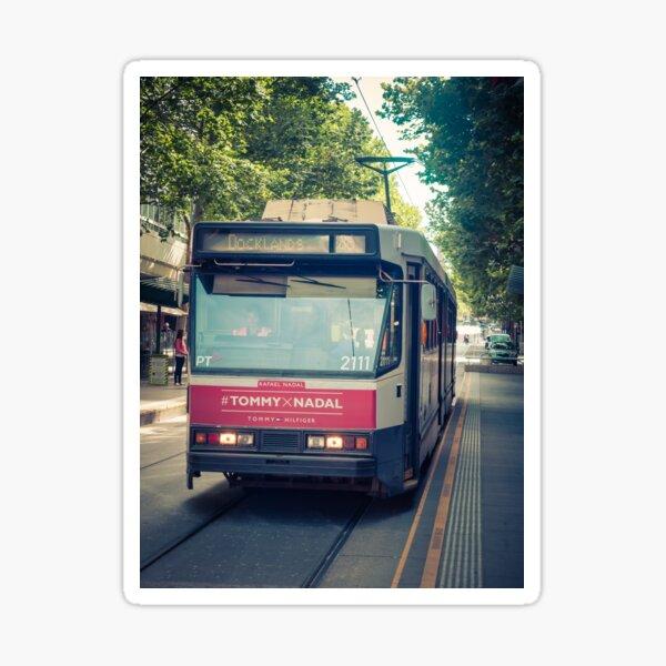 Tram To Docklands Sticker