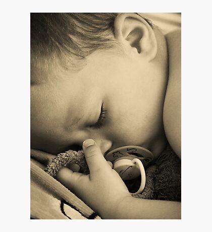 SLEEPING BABY (PEACE) Photographic Print
