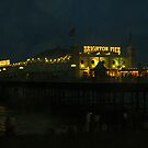 Pride Night Pier by John Nutley