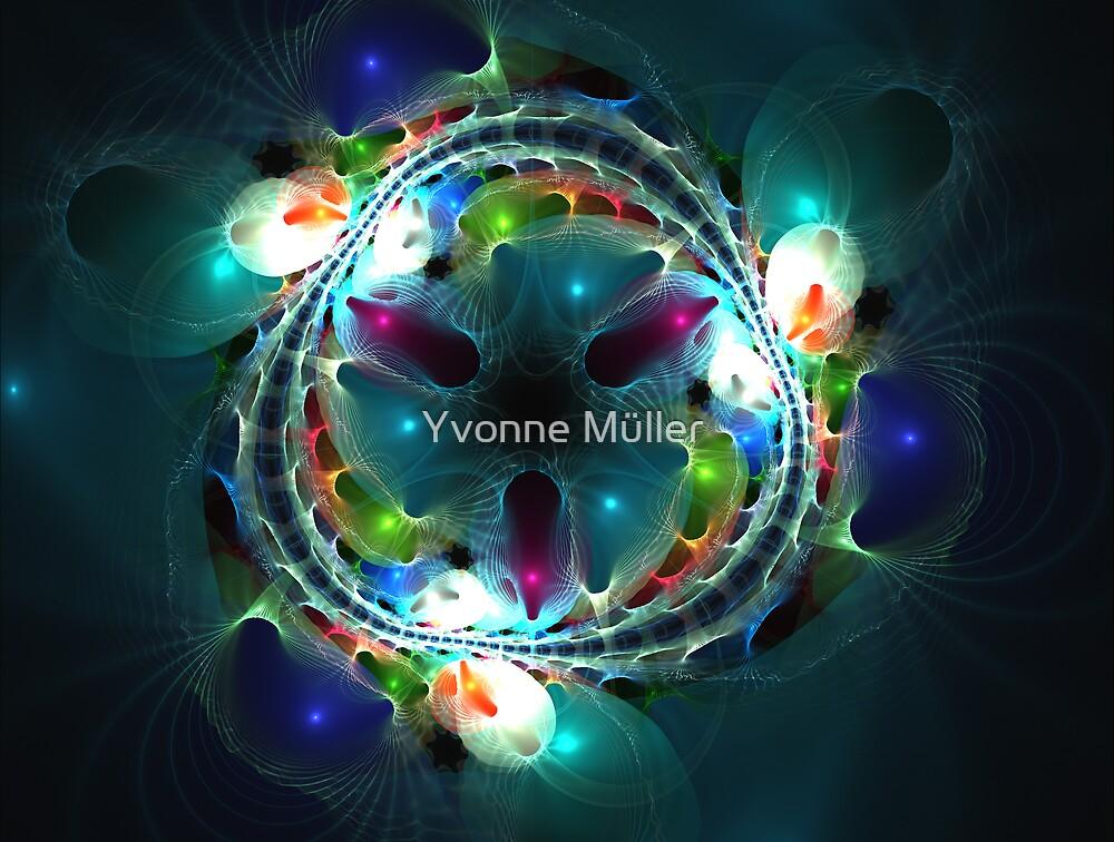 light my soul II by Yvonne Müller