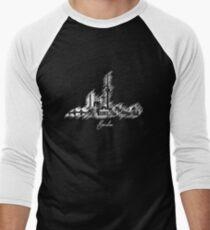 Berlin graphic scribble skyline  Men's Baseball ¾ T-Shirt