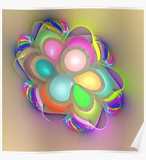 Rainbow Impressions Poster