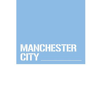 Manchester City square by Superkev45