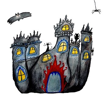 Halloween Castle by Manitarka