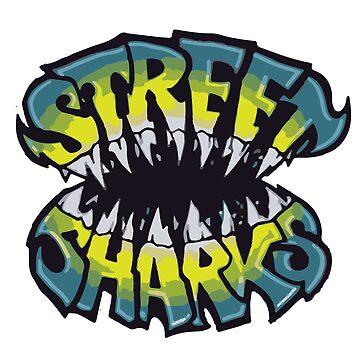 Street Sharks by MargyWargy