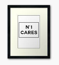 Chanel No1 Cares Framed Print
