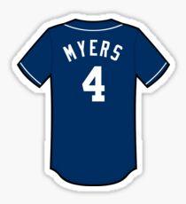 Wil Myers Jersey Sticker