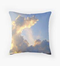 Odd Shaped Cloud Throw Pillow