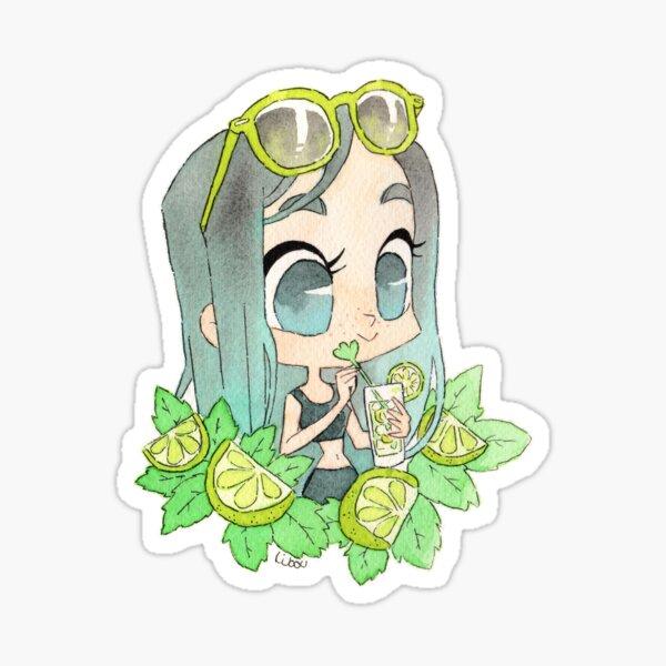 Citron menthe mojito mignon Sticker