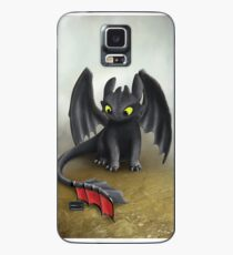 Toothless Dragon inspired from How To train Your Dragon. Case/Skin for Samsung Galaxy