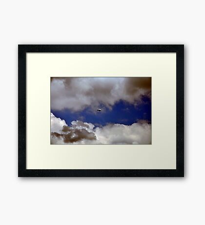 Up, Up, and Away! Framed Print