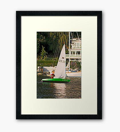 Crock Framed Print
