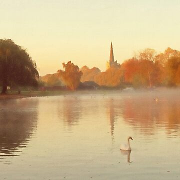 The Avon at Stratford-upon-Avon by markcsalmon