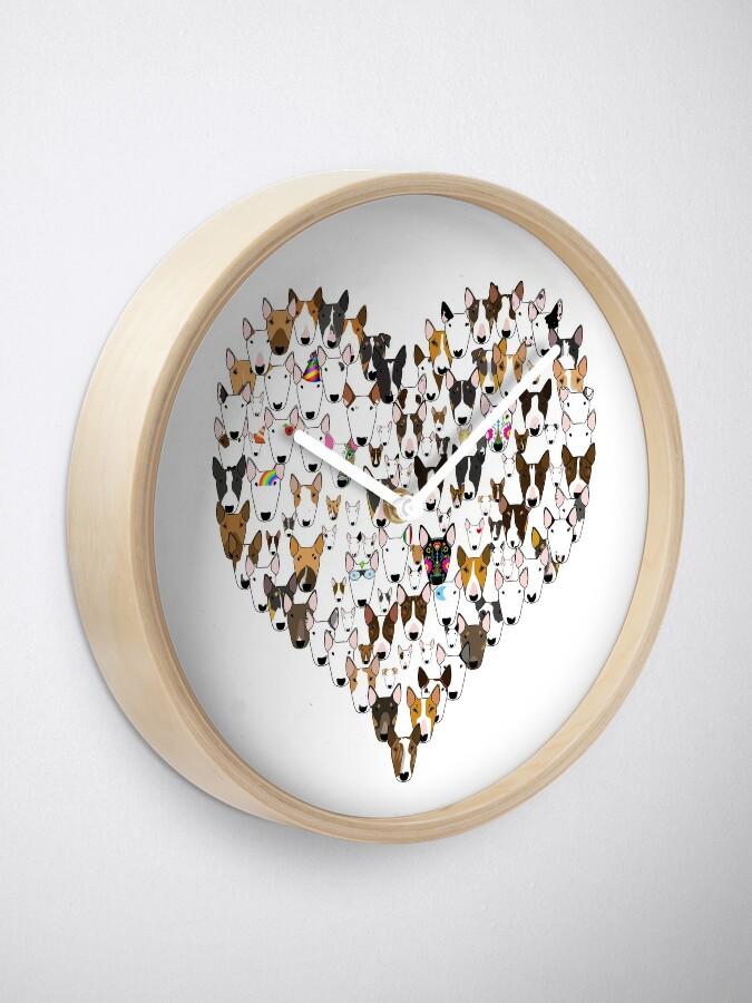 Alternate view of Bully Love Clock