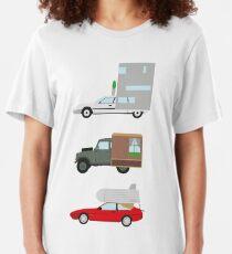 Die Karawane-Herausforderung Slim Fit T-Shirt
