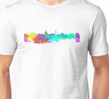 Washington DC Skyline - Water Colours Unisex T-Shirt