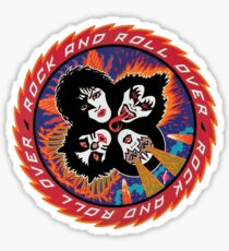 Rock And Roll Over - 4 Sticker