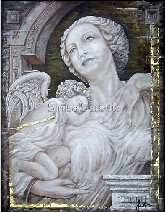 Angel by Sinisa Saratlic