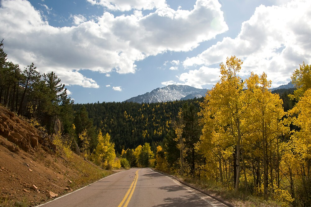 Pikes Peak Highway by punchdrunklove