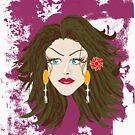 Blue Eyed Beauty by Godwin Jacob D'Souza