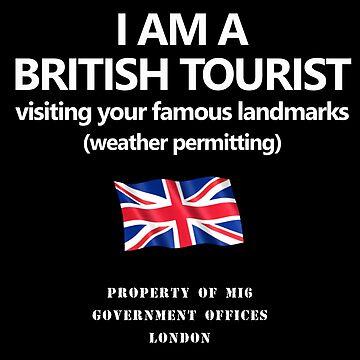 British Spy Disclaimer Shirt by markstones