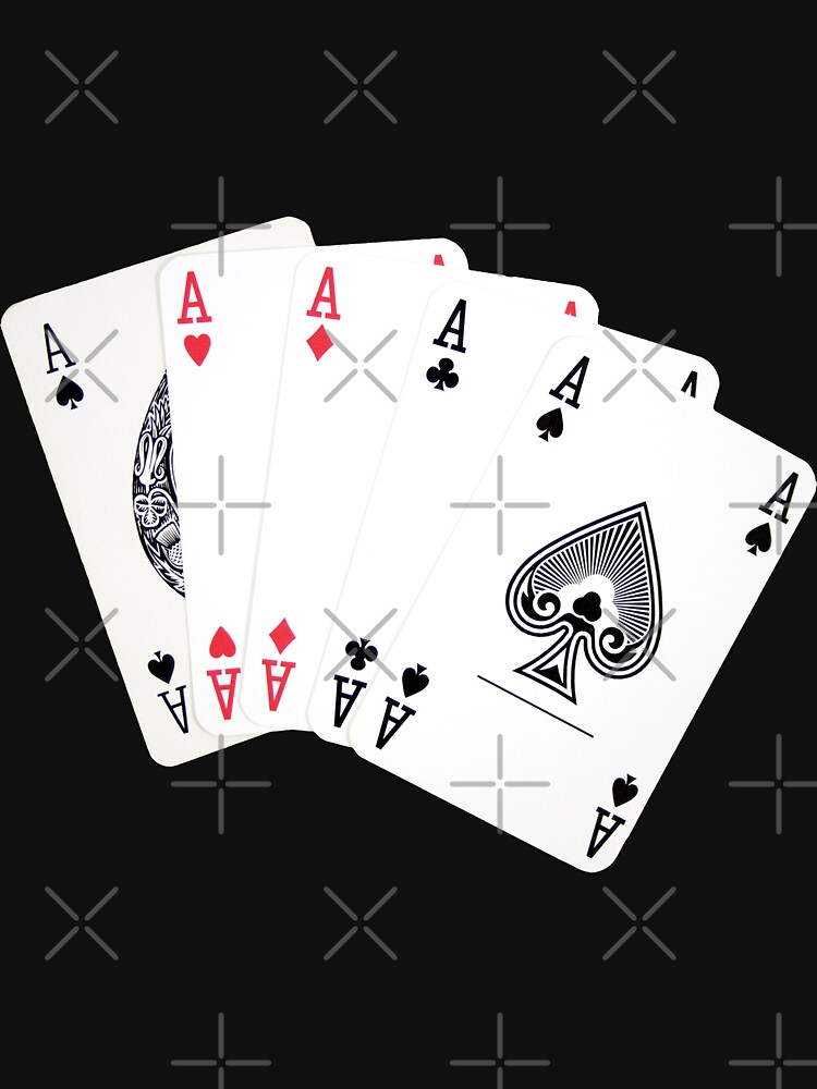 Five aces poker hand by Mindreader