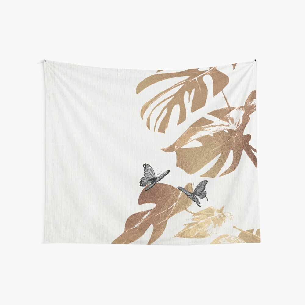 Fluttering Nature I Wall Tapestry